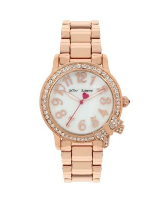 SPARKLE BOW WATCH ROSE GOLD