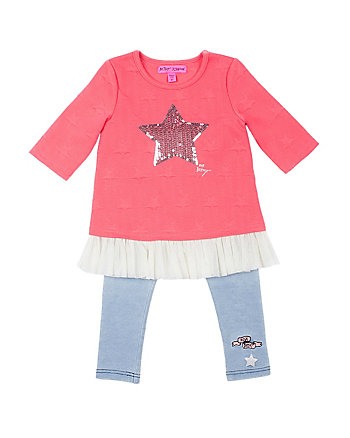 STARRY SIGHTS TODDLER 2 PIECE LEGGING SET
