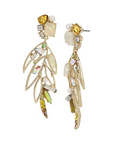 STATEMENT CRITTERS COCKATOO EARRINGS