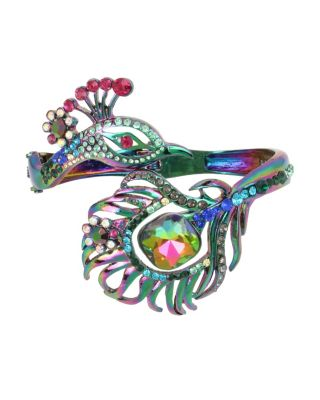 STATEMENT CRITTERS PEACOCK BANGLE MULTI