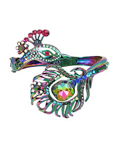 STATEMENT CRITTERS PEACOCK BANGLE