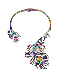 STATEMENT CRITTERS PEACOCK NECKLACE