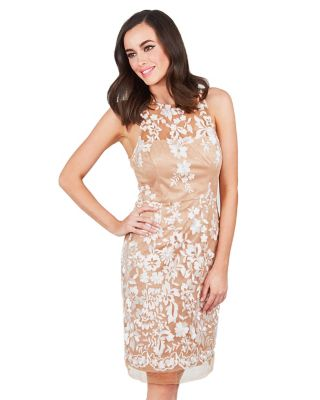 SUBTLE ELEGANCE DRESS NUDE