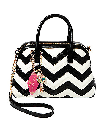 SUITE LIFE CHEVRON DOME SATCHEL