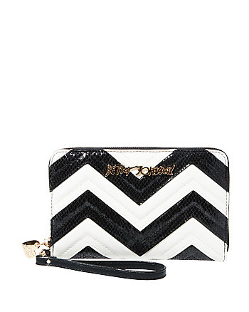 SUITE LIFE CHEVRON LARGE WALLET