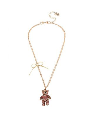 SWEET SHOP BABY BEAR PENDANT PINK