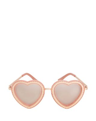SWEETHEART SUNGLASSES BLUSH