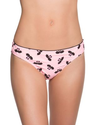 SWOONING SWANS HIPSTER BOTTOM BLACK/PINK