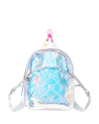 THE FUTURE IS HERE MINI BACKPACK CLEAR