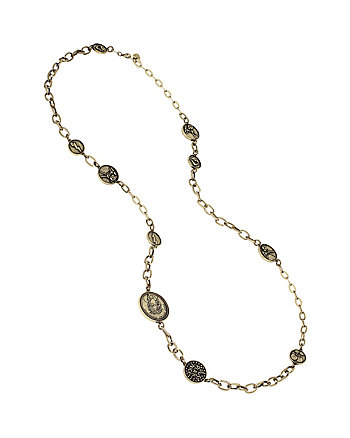 THROWBACK TO VINTAGE BJ COIN NECKLACE