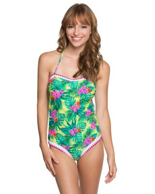 TROPICAL ESCAPE ONE PIECE LIME