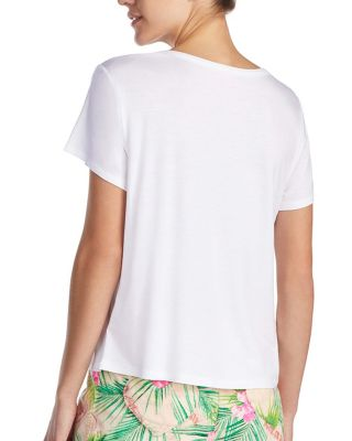 TROPICAL VIBES GRAPHIC TEE BLUE