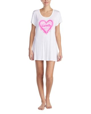 TROPICAL VIBES GRAPHIC TUNIC WHITE