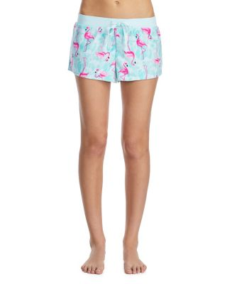 TROPICAL VIBES TERRY SHORTS BLUE MULTI