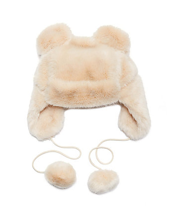 TWINKLE SPRINKLE FAUX FUR HAT