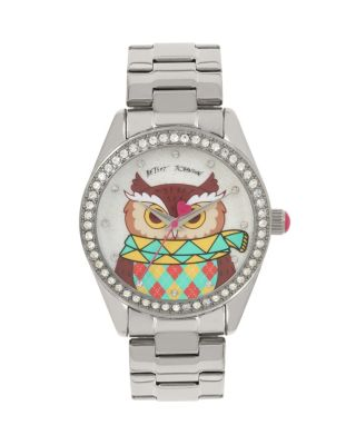 UGLY SWEATER CONTEST OWL WATCH MULTI