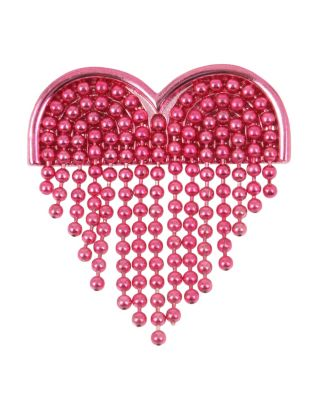 UNBREAK MY HEART FRINGE PIN PINK MULTI