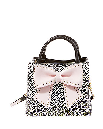 WELCOME TO THE BIG BOW BUCKET BAG