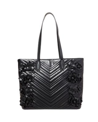 Image of WHAT IN CARNATION TOTE BLACK