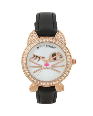 WINKY KITTY BLACK WATCH BLACK