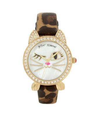 WINKY KITTY LEOPARD WATCH LEOPARD