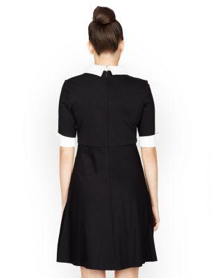 WONDERFUL WEDNESDAY DRESS BLACK