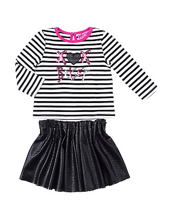 XOX BETSEY 4-6X 2 PIECE SKIRT SET