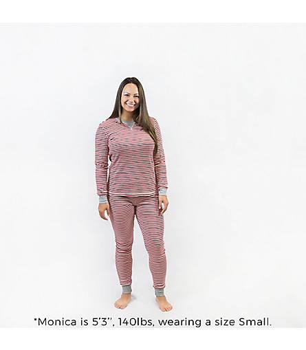 Womens Organic Cotton Fair Isle Adult Pajamas - Burts Bees Baby