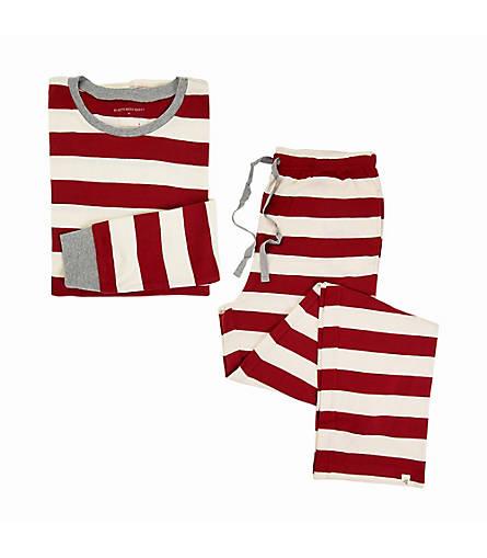 Mens Organic Rugby Stripe Pajama Set - Burts Bees Baby