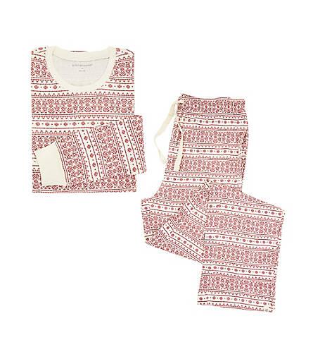 Mens Organic Fair Isle Pajama Set - Burts Bees Baby