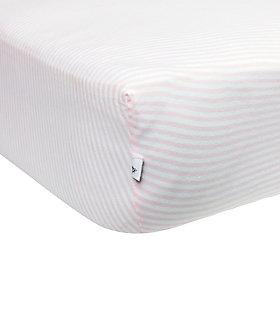 Stripe Organic Cotton BEESNUG™ Fitted Crib Sheet