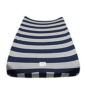 Bold Stripe Organic Cotton BEESNUG™ Changing Pad Cover