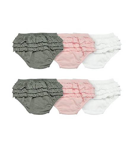 Ruffle Diaper Cover 6-pack: Color - Multi