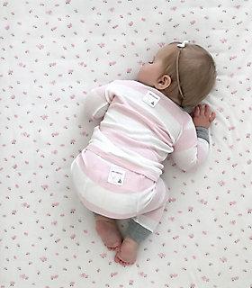 Baby Organic Cotton Rugby Stripe Pajamas
