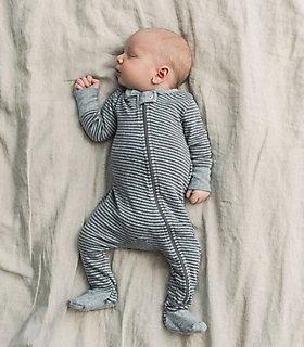 Classic Organic Cotton Stripe Sleeper