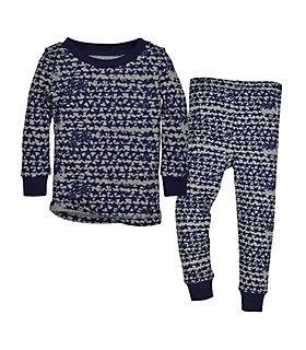 Clustered Star Organic Cotton Pajamas