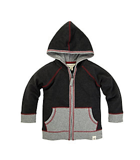 Baby Organic Cotton French Terry Zip Hoodie