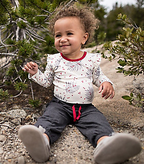 Baby Organic Cotton Bodysuit and Pant Set