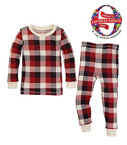 Baby Buffalo Plaid Organic Cotton Pajamas - Burts Bees Baby