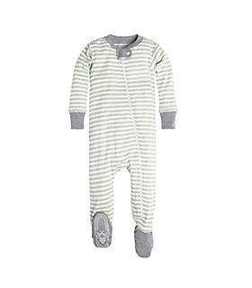 Baby Mini Stripe Organic Cotton Sleeper