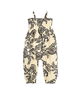Baby Catching Dreams Bubble Organic Cotton Romper