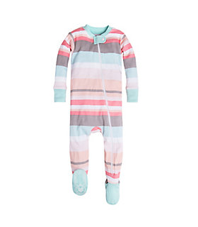 Baby Desert Stripe Organic Cotton Sleeper