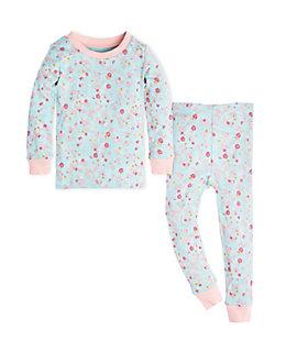 Baby Ditsy Floral Organic Cotton Pajama Set