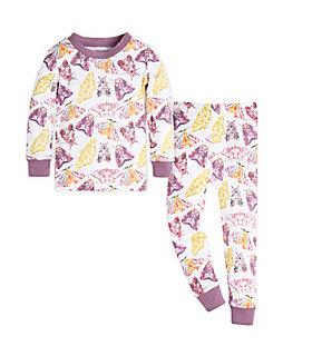 Baby Flutterbug Organic Cotton Pajama Set