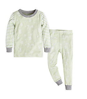 Baby Succulents and Bees Organic Cotton Pajama Set