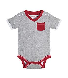 Baby Jersey Pocket Organic Cotton Bodysuit