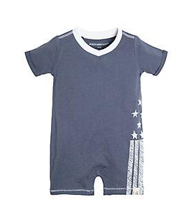 Baby Stars and Stripes Organic Cotton Shortall