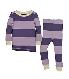 Kids Stripe Organic Cotton Two Piece Pajamas