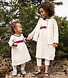 Kids Organic Cotton Crochet Skirt Dress