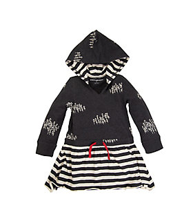 Kids Organic Cotton Hooded Dress